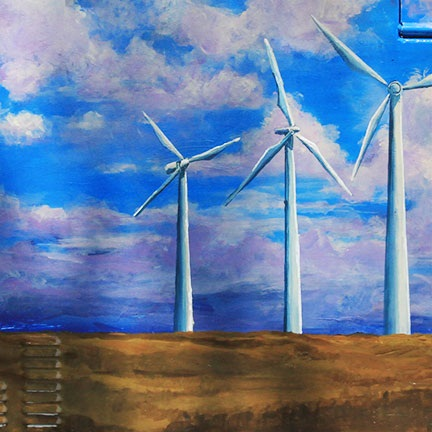 Windmills: Where Art and Science Meet by Lyse Dzija