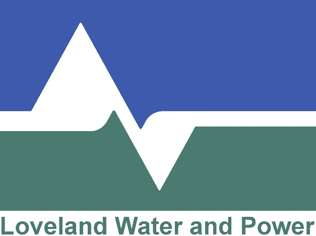 Loveland Water and Power Logo