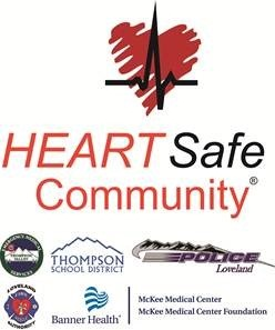 Heart Safe Community Loveland Logos Image