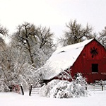 Red Barn by Mike Reiff