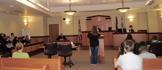 Picture of a Teen Court Session