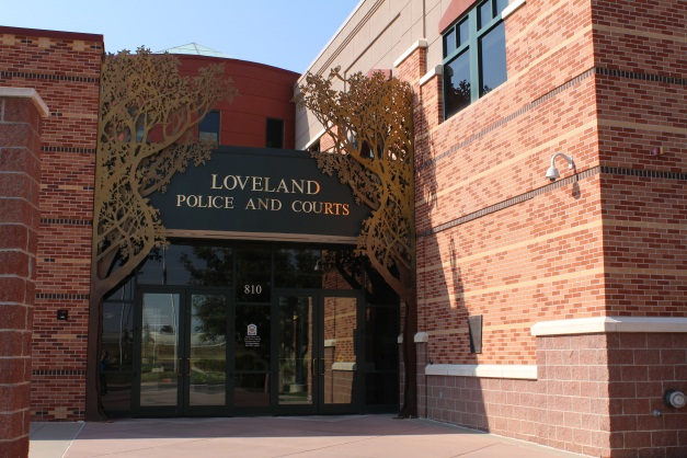 Picture of the Loveland Police and Courts Building