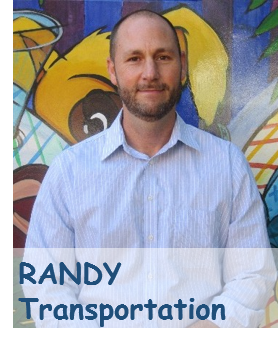 Picture of Randy in Transportation