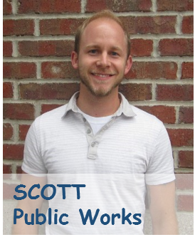 Picture of Scott in Public Works