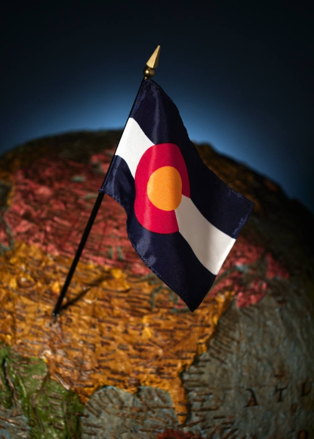 photo of Colorado State Flag