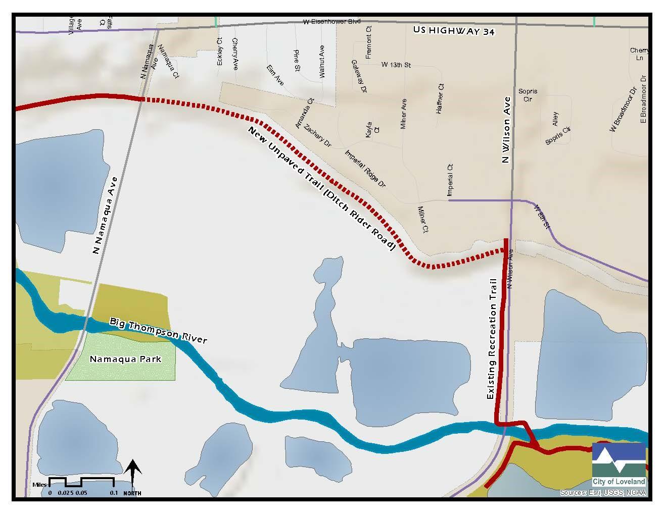 Namaqua Wilson trail map