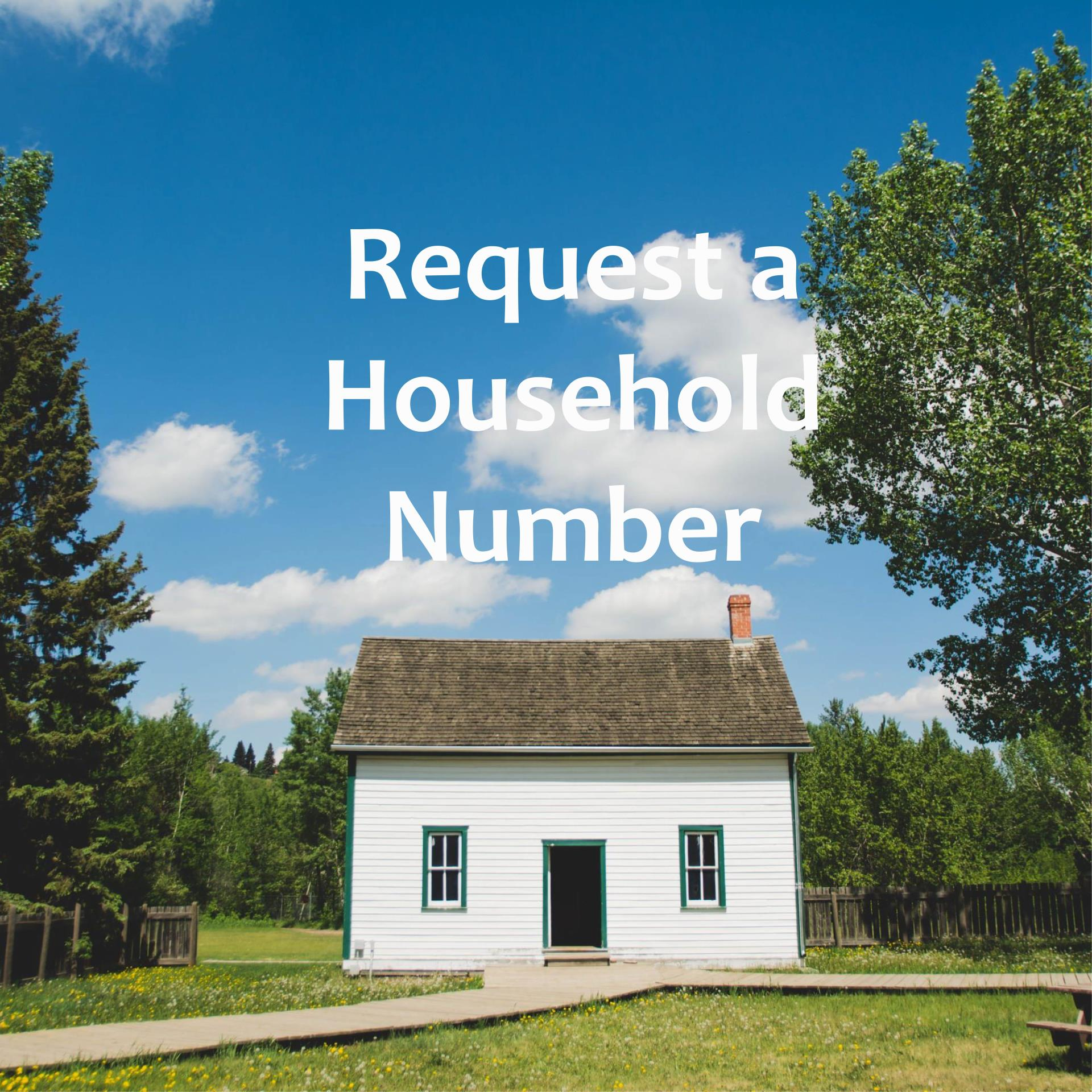request household number