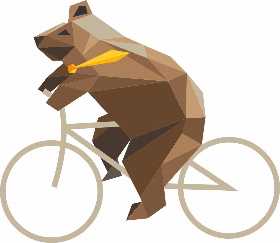 Bike month bear on bike