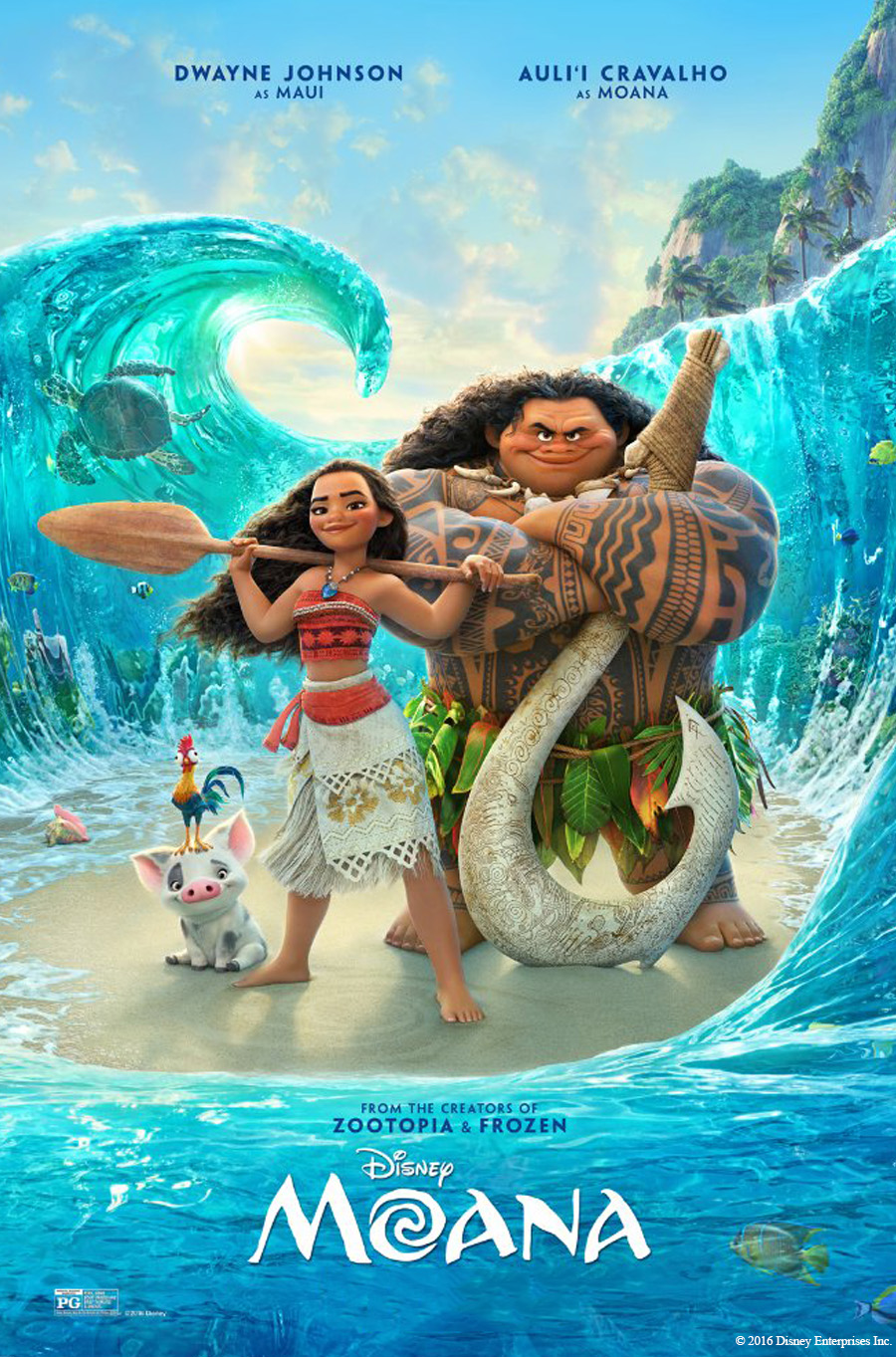 Moana - Movies in the Park