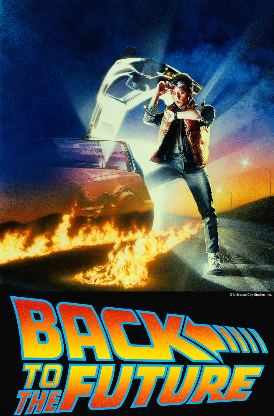 Back to the Future - Movies in the Park