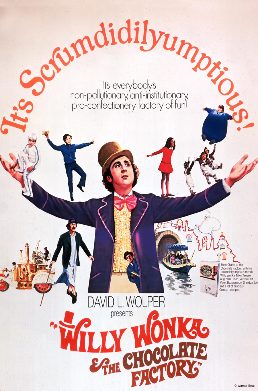 Willy Wonka & The Chocolate Factory - Movies in the Park