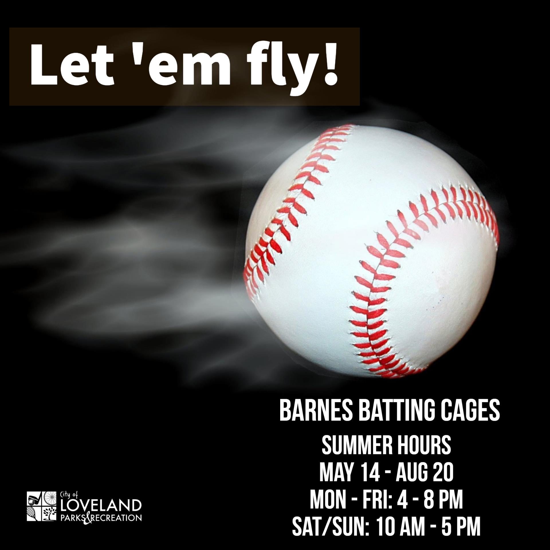 Barnes Complex Batting Cage Summer Hours