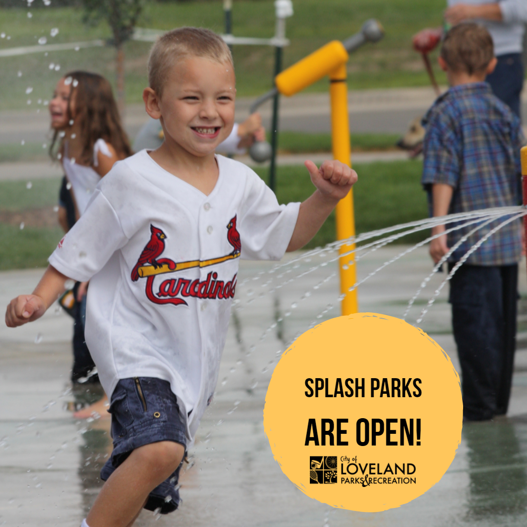 Splash Parks Open