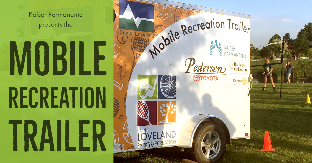 Mobile Recreation Trailer