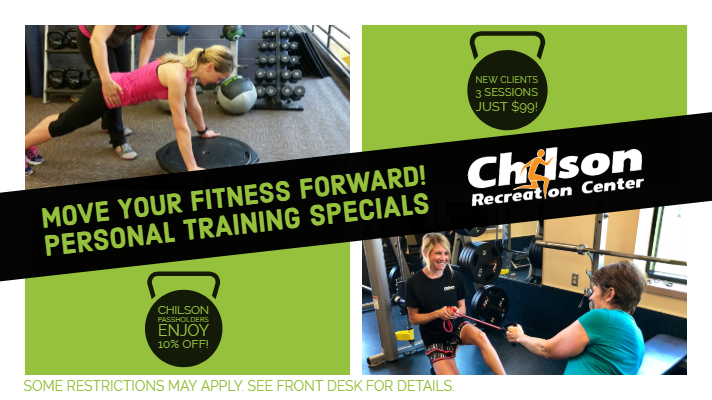 Personal Training Special at Chilson Recreation Center
