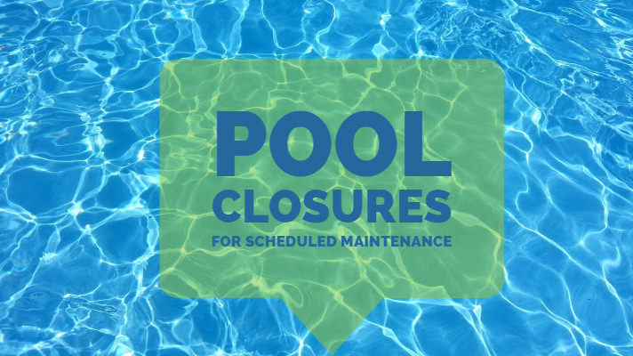Scheduled Pool Closures at Chilson Recreation Center