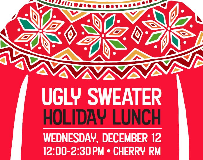 Ugly Sweater Lunch at Chilson Senior Center