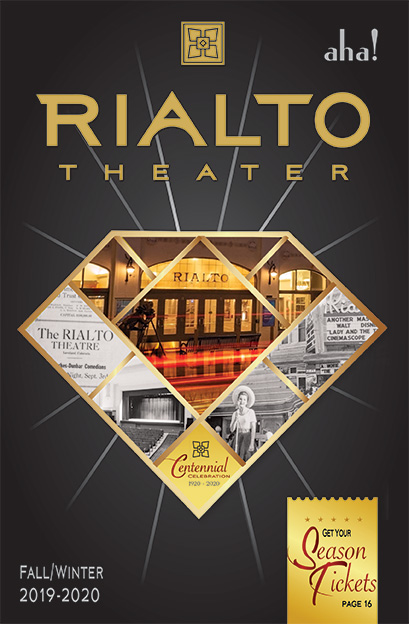 Rialto Theater Fall Winter 2019 2020 Brochure