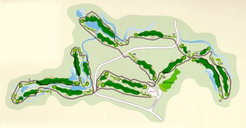 Mariana Butte Golf Course Layout