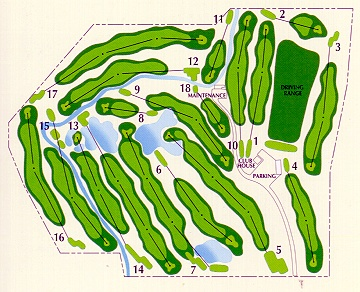 Olde Course at Loveland Golf Course Layout