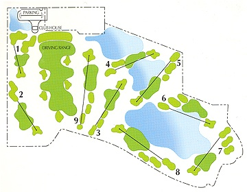 Cattail Creek Golf Course Layout