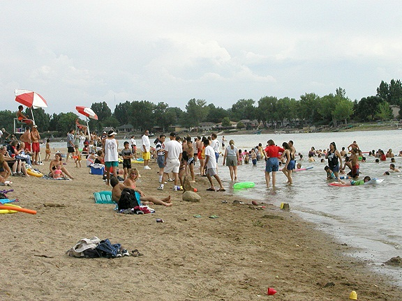Swim Beach at Lake Loveland