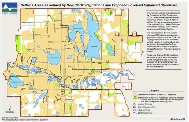Oil & Gas Development in Loveland | City of Loveland