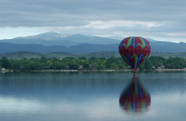 lake loveland hot air balloon