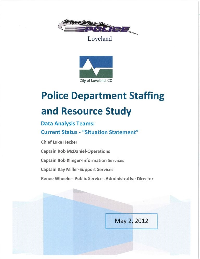 PD Staffing & Resource 050212
