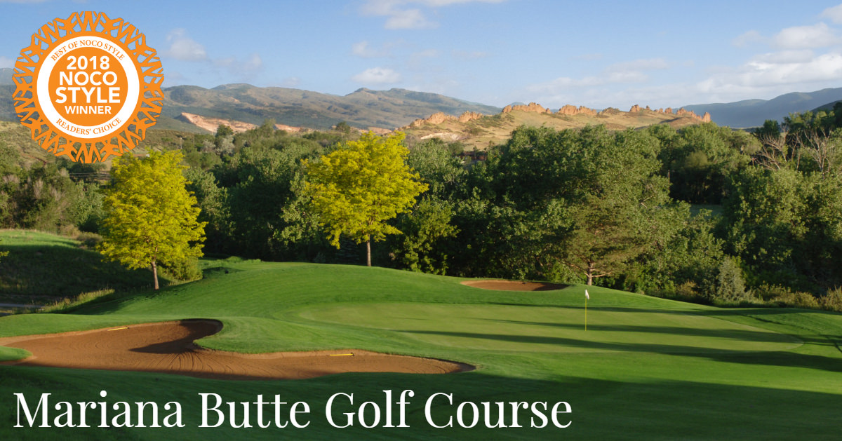 Mariana Butte Golf Course Best of NOCO Style Award