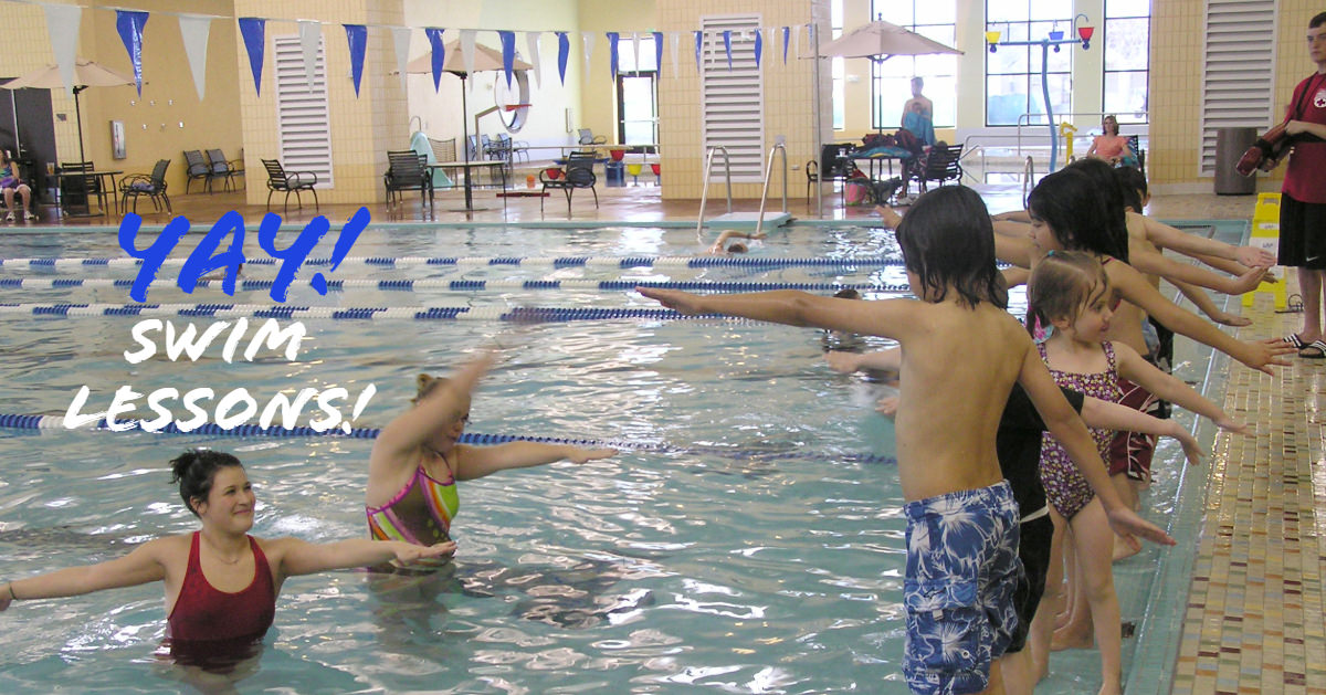 swim lessons at Chilson Recreation Center in Loveland