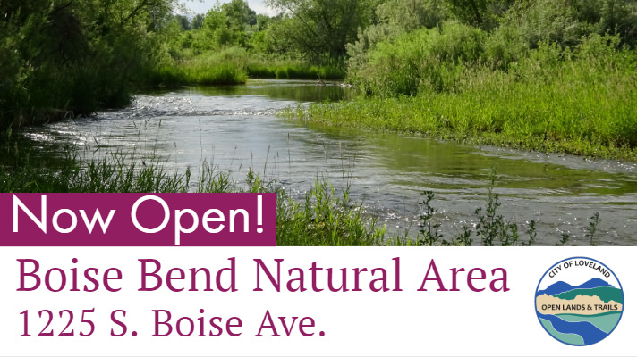 Boise Bend Natural Area in Loveland now open