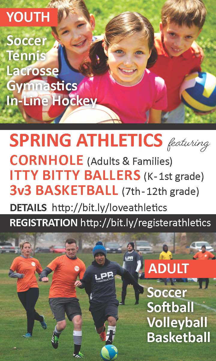 youth and adult athletic programs