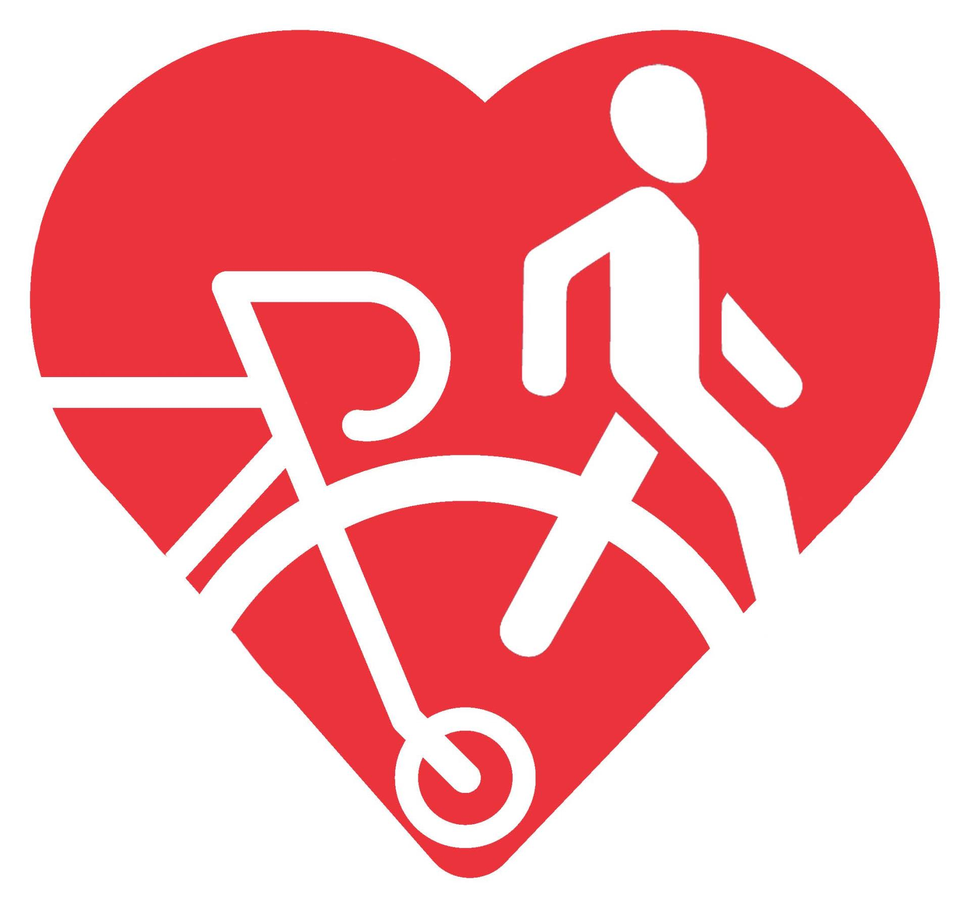 Walk and Bike Month Logo