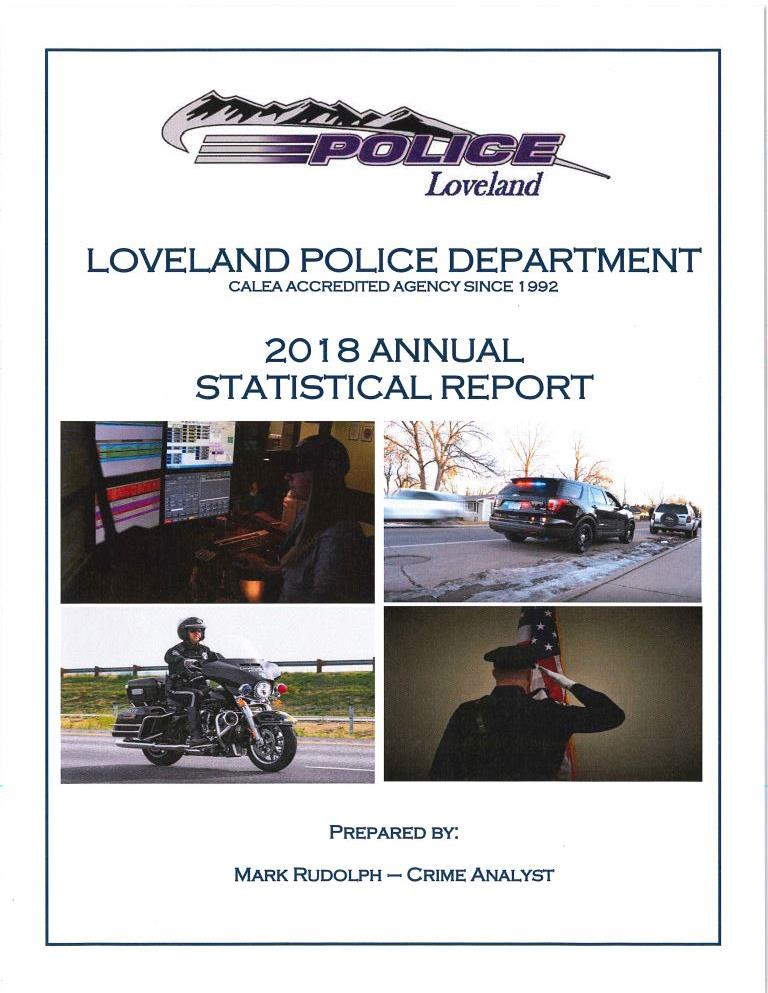 2018 LPD annual statistical report thumbnail