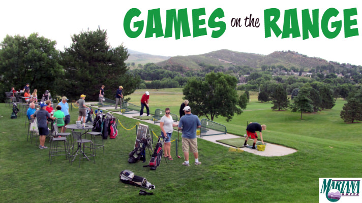 people playing Games on the Range at Mariana Butte Golf Course