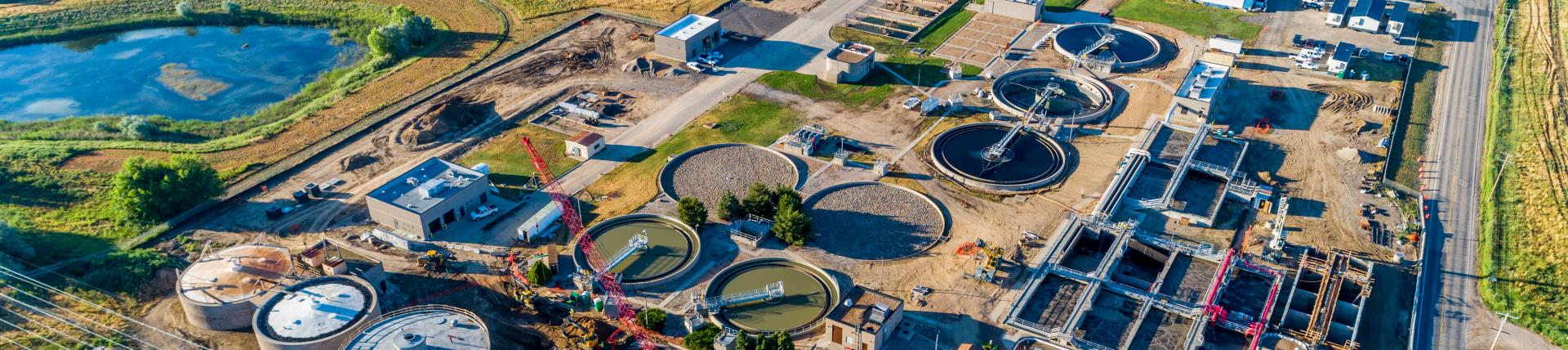 Loveland Wastewater Treatment Plant Ariel