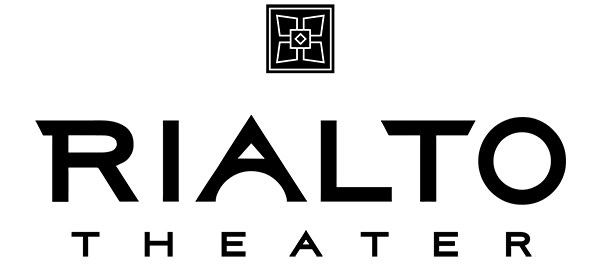 Rialto Theater's new logo 2019