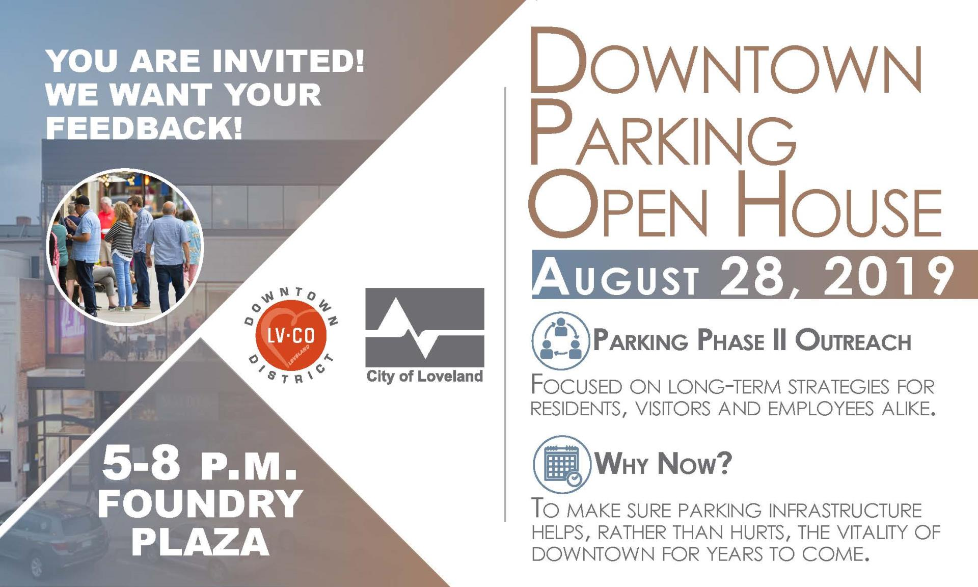 parking open house