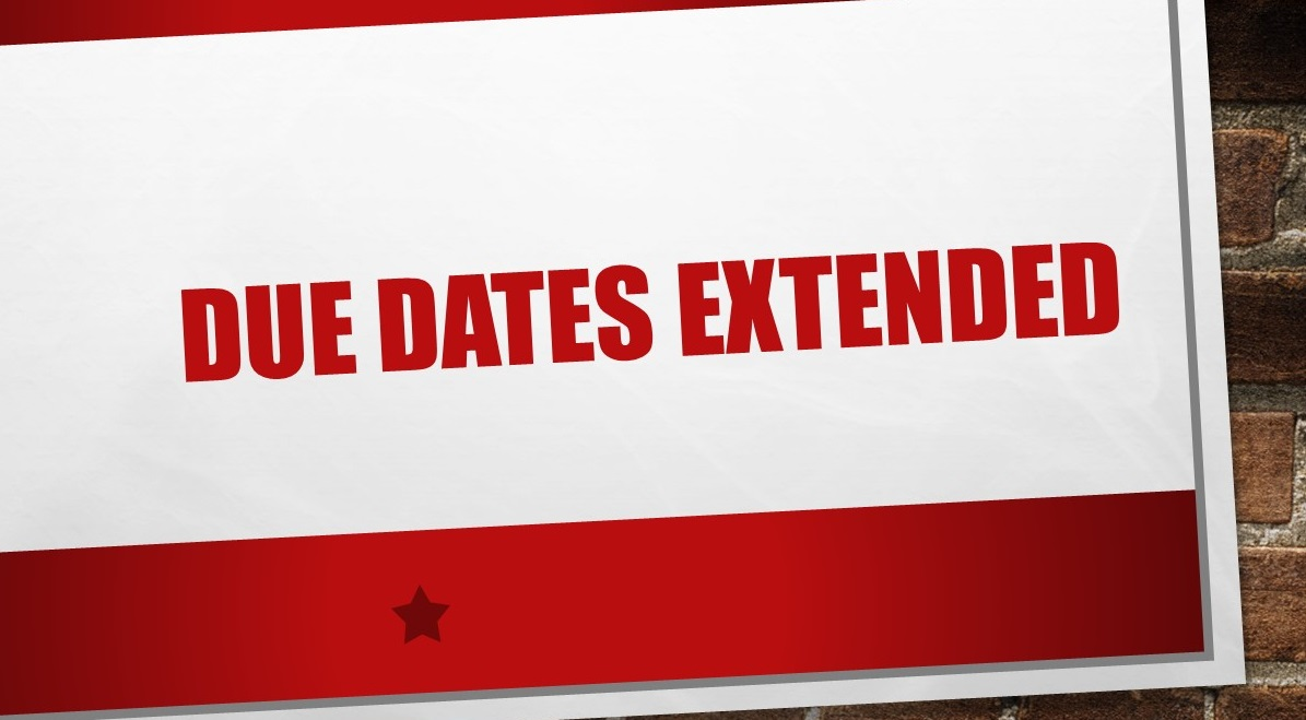sales tax due dates