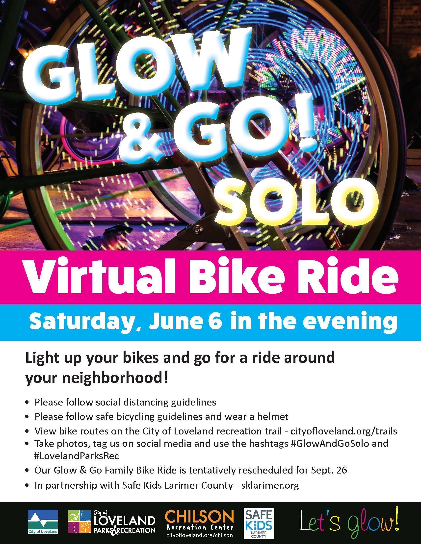 Glow and Go Virtual Ride