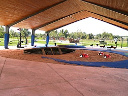 Fairgrounds Covered Play Area