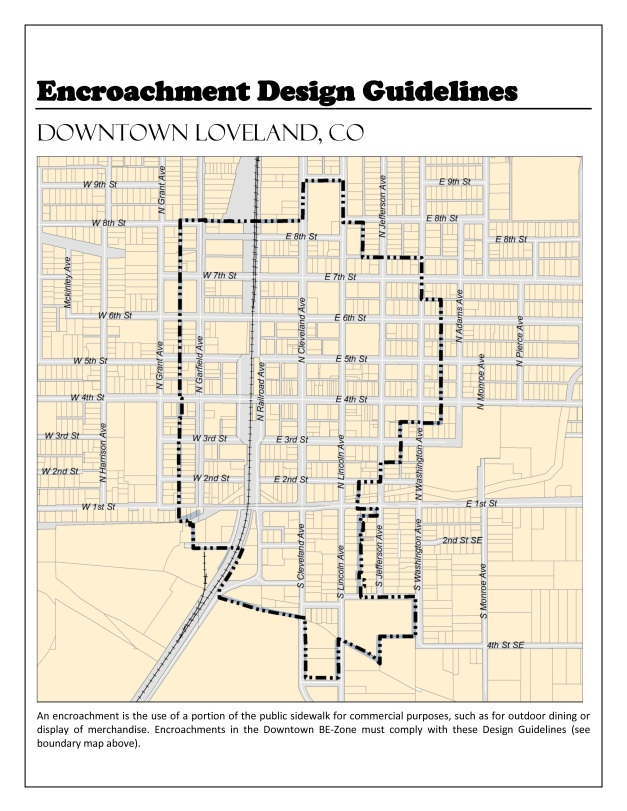 Download The Downtown Encroachment Design Guidelines
