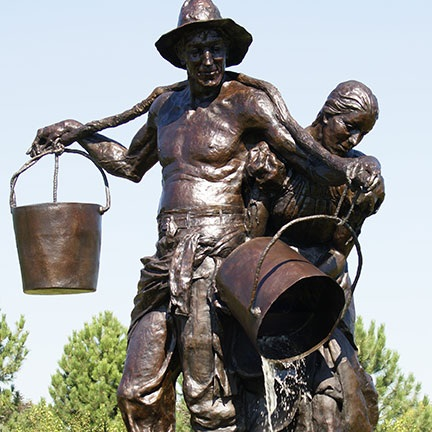 Water Carriers by Herb Mignery